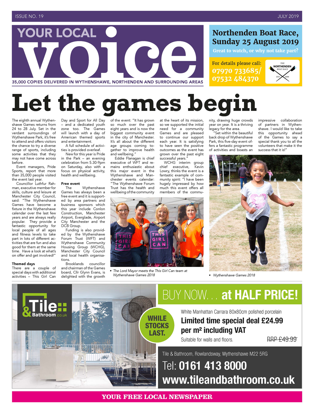Your Local Voice newspaper issue 19