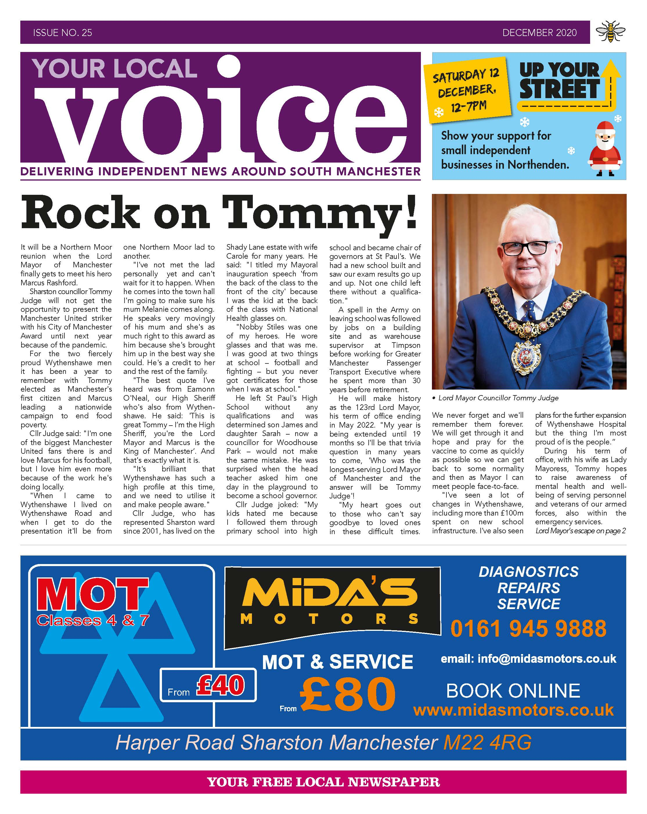 Your Local Voice newspaper issue 25